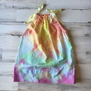 Other - Time & Again Tie Dye Pillow Dress Size 4